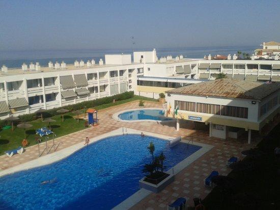 Hotel Flamero: vistas de la piscina