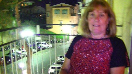 Hotel Savoia: desde el balcon