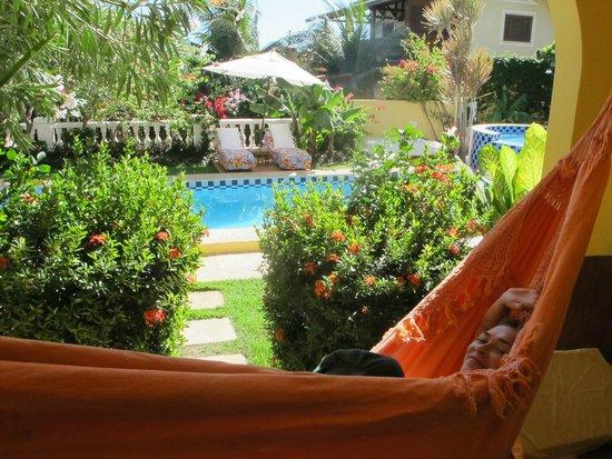 Hotel Villa Terra Viva: Varanda view
