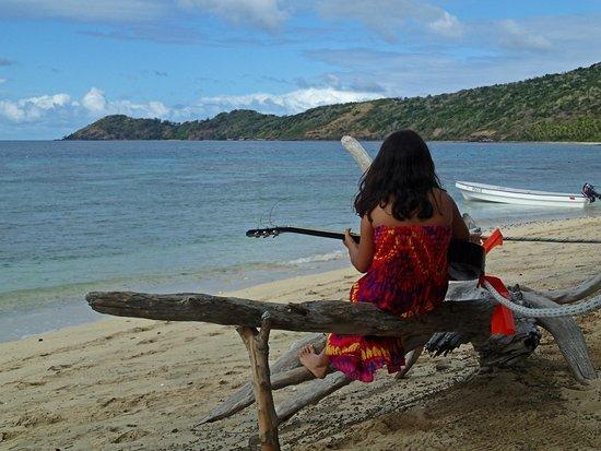 Mantaray Island Resort: Lovely beach area