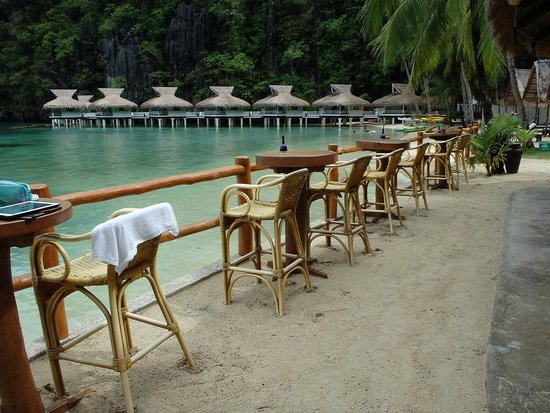 El Nido Resorts Miniloc Island : バー