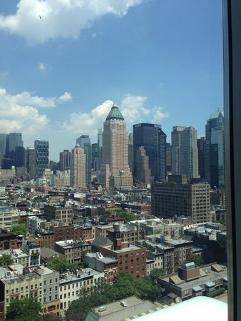 YOTEL New York at Times Square West : View from the 22nd floor on 42nd ST