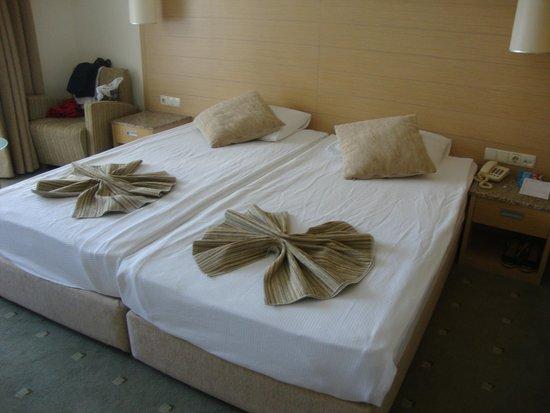 Sealight Resort Hotel: les lits