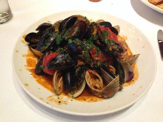 Lavo Restaurant: Морская закуска