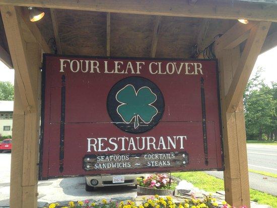 Huge Menu Old Fashioned Food Review Of Four Leaf Clover