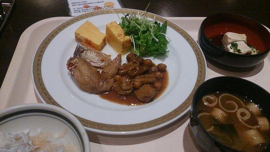 Nagoya Sakae Tokyu REI Hotel : 朝食です