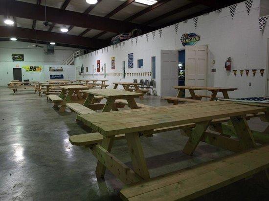 NASCAR RV Resorts at Endless Caverns: Indoor Pavilion