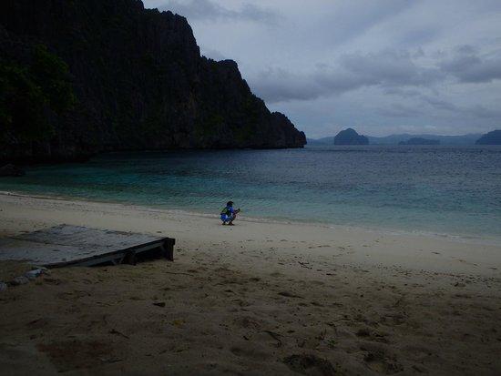 El Nido Resorts Lagen Island : プライベートビーチ