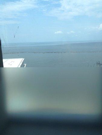 Hard Rock Hotel & Casino Biloxi: View from shower Platinum Tower
