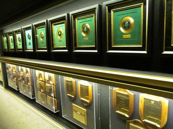 Graceland : Elvis' records.