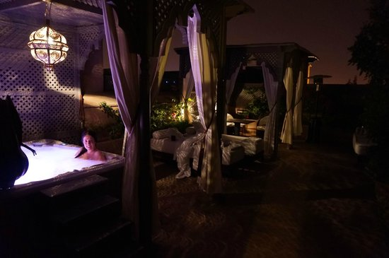 Riad Noir d'Ivoire: Panthere Private Terrace