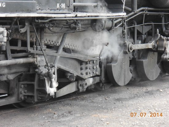 Durango and Silverton Narrow Gauge Railroad and Museum : Lots of power