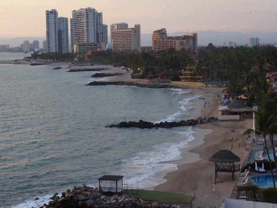Plaza Pelicanos Grand Beach Resort: Vue de la terrasse panoramique