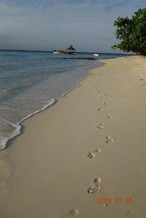 Reethi Beach Resort: 沙灘