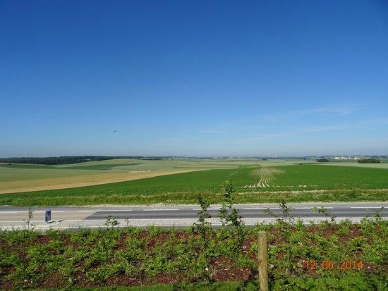 Terres de Memoire Somme Battlefield Tours: Near the Australian Memorial, Villers Brettoneux