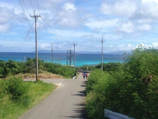Nishihama Beach: 景観