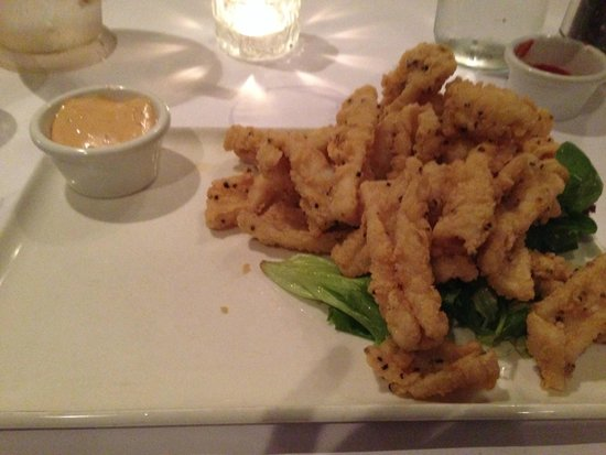 Rose & Crown: Salt and Pepper Squid