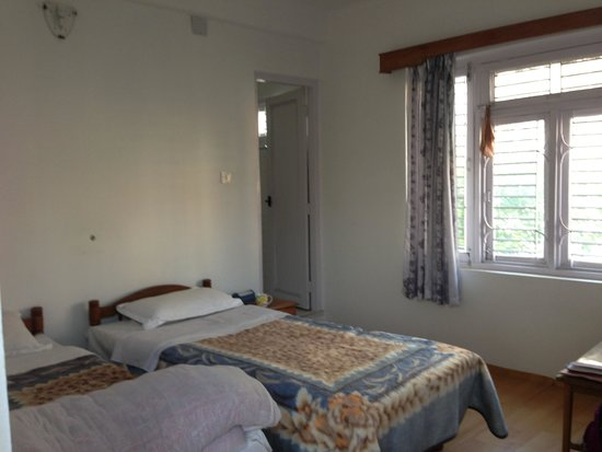 Villa Papillon: Two comfortable beds