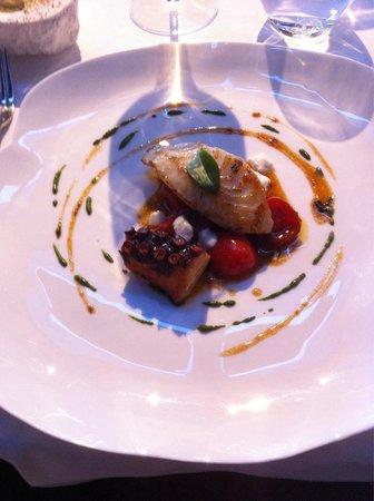 L'O des Vignes : Saint Pierre /Tomates/ Mozzarella