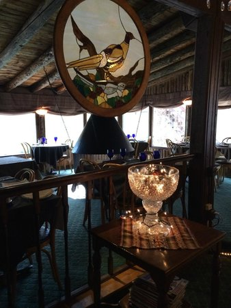 Rapids Lodge Restaurant: Dining room