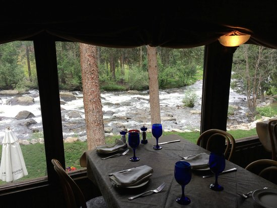 Rapids Lodge Restaurant: View from the dining room