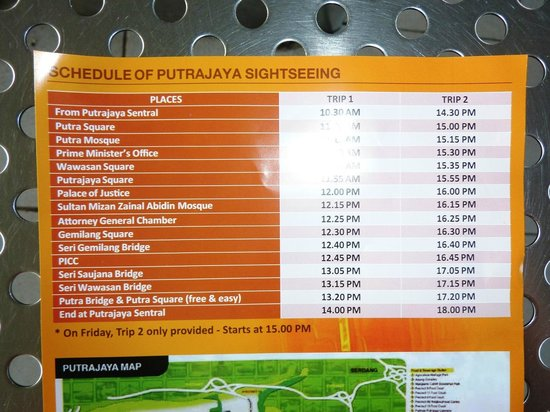 Putrajaya Sightseeing Tour