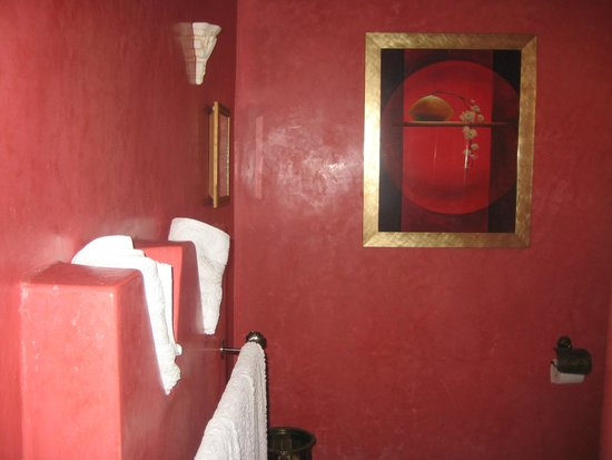 Riad Soleil d'Orient : Even he bathroom was perfect