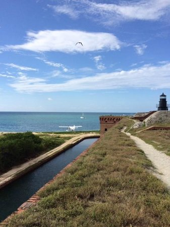 Key West Seaplane Adventures: View from the top of Fort Jefferson