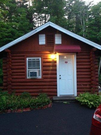 Seven Dwarfs Motel & Cabins : Front of cabin 11