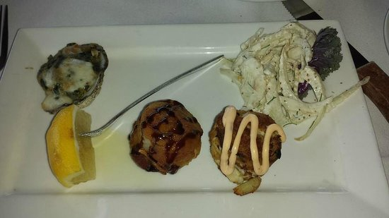 Fresh Catch Bistro : Our appetizer