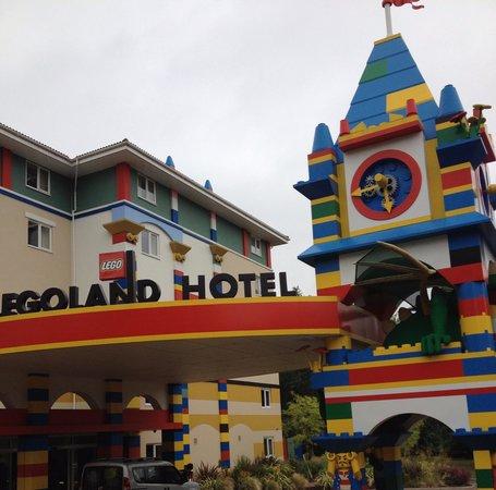 Hotel LEGOLAND: Entrée de l'hôtel