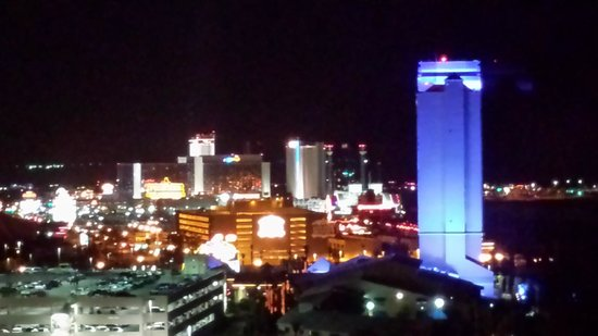 Harrah's Laughlin: Night view from room