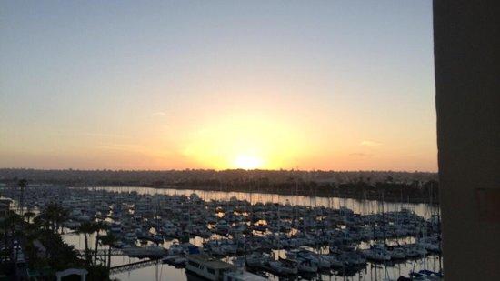 The Sheraton San Diego Hotel & Marina : San Diego sunsets