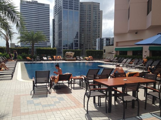 Rembrandt Hotel Bangkok: Pool on 4th floor!