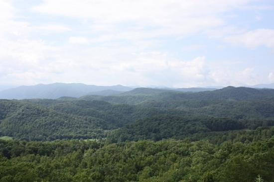 Foothills Parkway: First of several stops