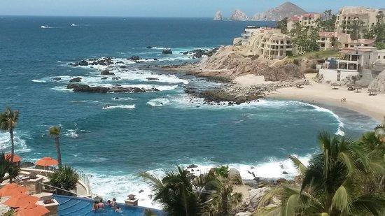 Welk Resorts Sirena Del Mar: Balcony view. endless pool, beach cove