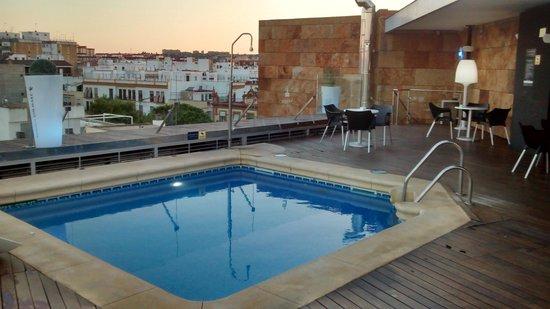 Ribera de Triana Hotel: Piscina en terraza