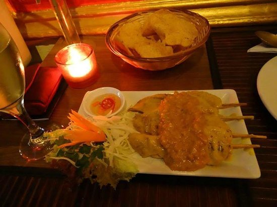 The Old Siam: chicken satay