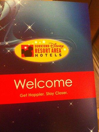 Wyndham Lake Buena Vista Disney Springs Resort Area: welcome