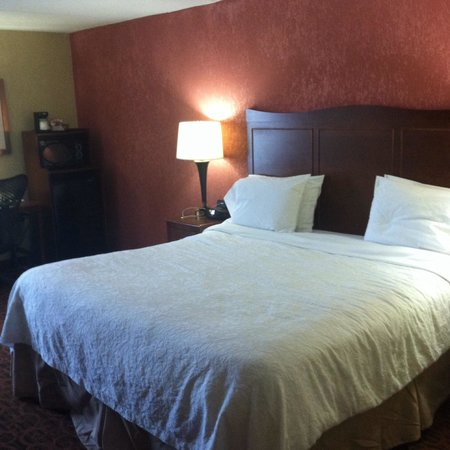 Hampton Inn - College Park: Bed