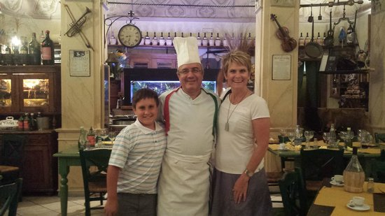 Ristorante Da Mimmo: With chef