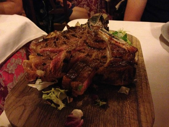 Peruca': Bistecca alla Fiorentina