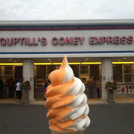 Guptill's Coney Express: Sherbet twist