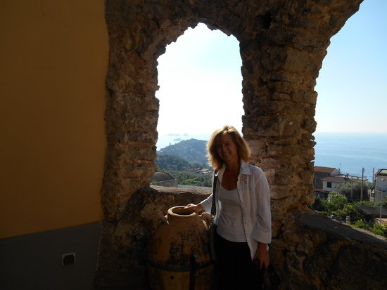 Casale Villarena: The view from outside our room