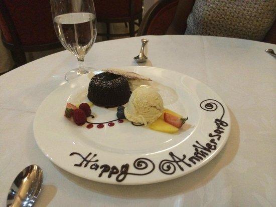 Sapodilla : Our 14th wedding anniversary - Sweet!
