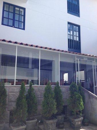 Tierra Viva Cusco Centro: Vista área interna hotel