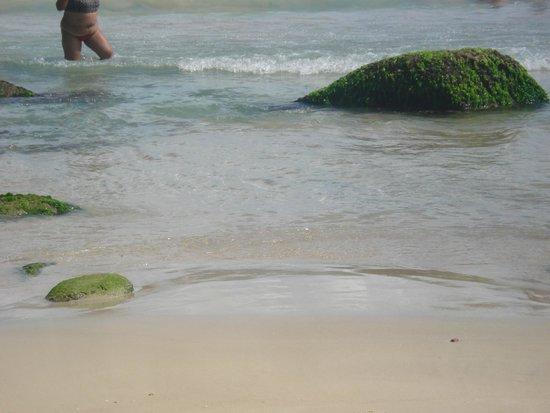 Praia De Quatro Ilhas: Canto esquerdo
