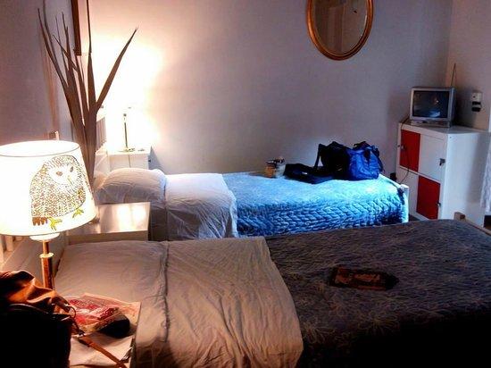 The Secret Garden : Dos de las 4 camas, las otras dos eran cuchetas