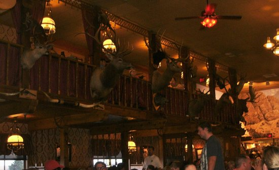 Big Texan Steak Ranch : The decorations
