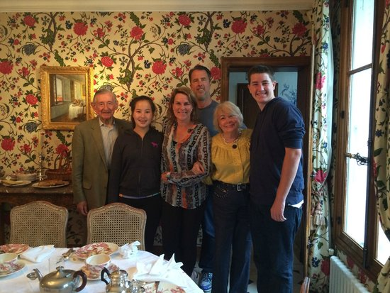 Manoir de Beauregard: With our hosts